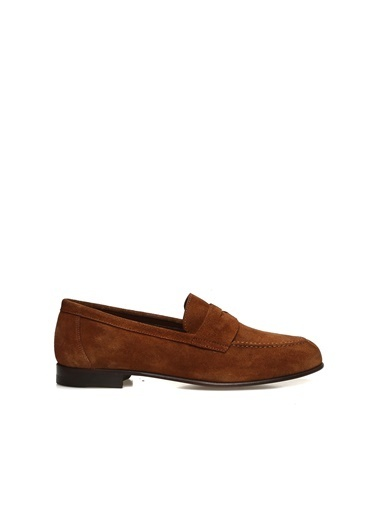 George Hogg Kadın Loafer Ayakkabı 7004709 Taba